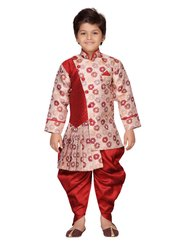 AJ Dezines Kids Sherwani Suit Set for Boys