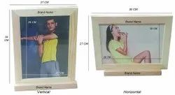 Wooden Brochure Stand For A4 A5 Size Brochure,Tent Card Stand,Wooden Picture Frame Card Holders