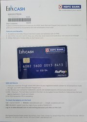 PREPAID ATM DEBIT CARD