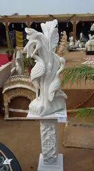 Handmade Outdoor Marble Decorative Sculpture