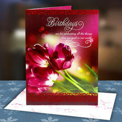Multicolor rectangular birthday greeting card size 86 inch rs multicolor rectangular birthday greeting card size 86 inch rs 35 piece id 18385734688 m4hsunfo
