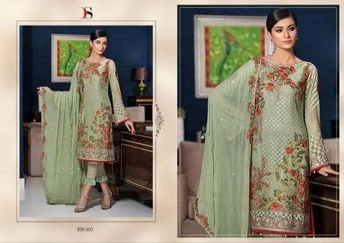 7d869d19ce Party Wear Deepsy Suits Ramsha Designer Salwar Suits, Machine Wash ...