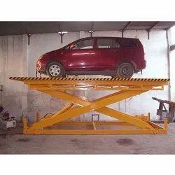 Hydro Malls Scissor Car Lift