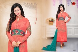 Long Designer Mafeeza Salwar Suit