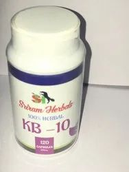 SRIRAM HERBALS Men KB 10 CREAT CARE, 120, Packaging Type: Bottles
