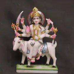 Marble Meldi Maa Statue