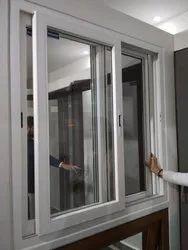 White Residential Upvc Window, Fanesta Upvc Windows, Glass Thickness: 5mm
