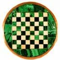 Beautiful Round Marble Inlay Table Tops