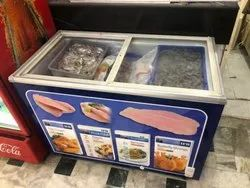 Fish Display Freezer