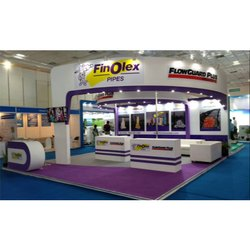 Installation Decoration Exhibition Stall Stand, Size: W25' X H12' X D15'