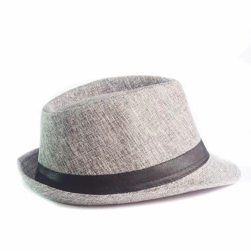 7e6938d0d2f18 Grey Men  s Fancy Hat