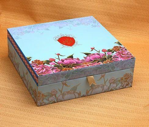 floral print wedding card box vaivahik favor box vsk graphics
