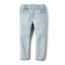 Cotton Regular Wear Girls Bottom Wear, Size: 28.0