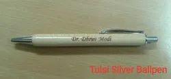 Tulsi Silver Ball Pen