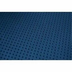 Semi Chrome Suede Perforated Leather