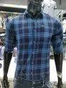 Men Cotton Check Shirt
