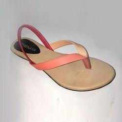 Ladies Casual Flat Sandal, Size: 6-11