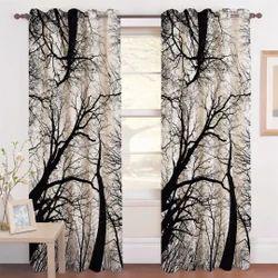 Crush Digital Print Curtain