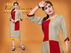 best digital rayon kurti