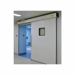 Blue Hinged OT Door, For Hospital, Size/Dimension: 1200 X 2100