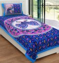Single Bed Sheet with 1 Pillow Cover