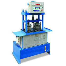 Double Die Hydraulic Paper Thali Making Machine