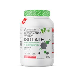 Whey Isolate Strawberry Milkshake 1 kg