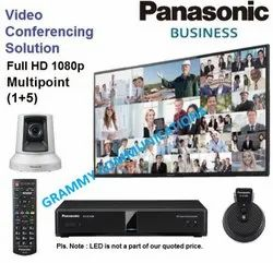 Panasonic Video Conferencing System : Multipoint 6-Sites Connection with 3x Optical Zoom