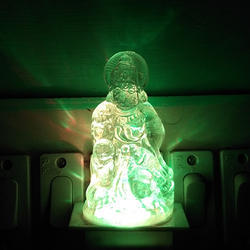 Crystal Night Lamp (Hanuman)