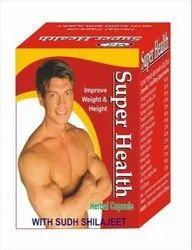 Super Health Herbal Capsule, Packaging Type: Box