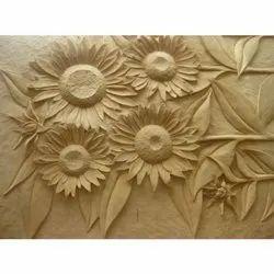 Designer Carved Wood