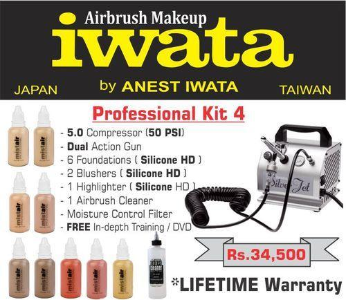 Iwata Airbrush Kit >> Iwata Professional Airbrush Makeup Kit 4 Rs 34500 Kit Id