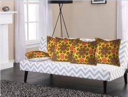 Multicolor Cotton Printed Cushion Covers