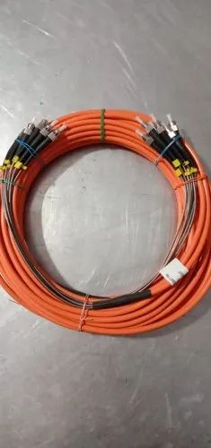 St Fiber Optic Patch Cord