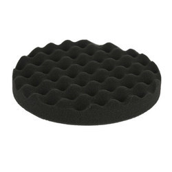 7 Finishing And Waxing Foam Pad Black Waffle