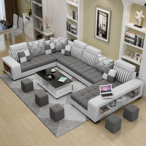 U Shaped Living Room Sofa Set, Living Room Sofas
