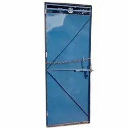 Single Iron Door