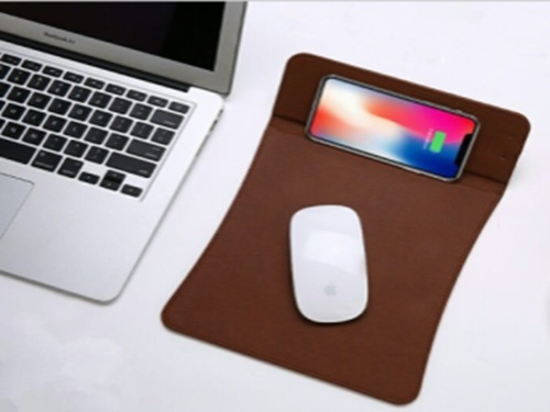 7ddd2b18db3 Fuel Black/Brown Wireless Charger Mouse Pad, Rs 1650 /piece | ID ...