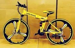 LAND ROVER Yellow Foldable Cycle