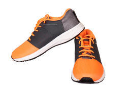 Orange Sports Shoes