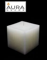 AuraDecor Square 3 inch candle