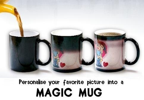 personalized photo magic mugs at rs 170 piece personalized gift