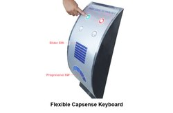 Flexible Capsense Keyboard