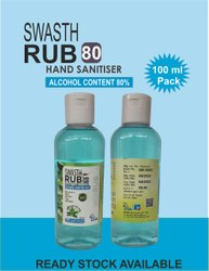 Hand Sanitizer 100 Ml With Alcohol  Janaab