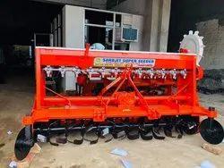 Iron Gear Transmission Weeder Super Seeder, 55 And Above, Size: 8 Feet