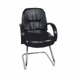 Leather S Type Visitor Chair