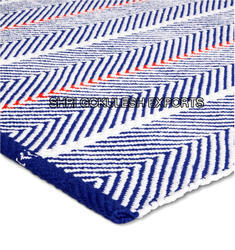SGE Rectangle Hand Woven Cotton Durries, Size: 60x120 cm