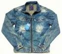 Blue Bond Full Sleeves Zipper Denim Jacket