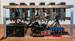 6 GPU Mining Rig for Cryptocurrency Mining - VTech Networks