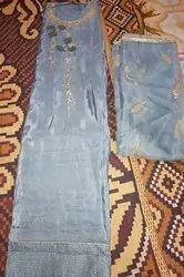 Gry Santon Ladies Dress Materials, Size: Large